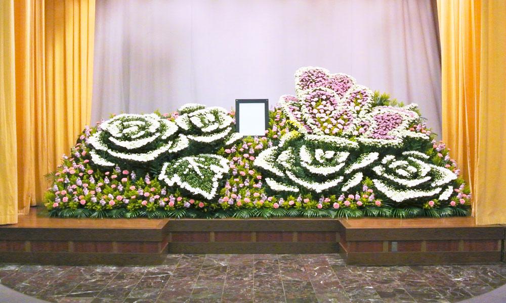 生花祭壇写真