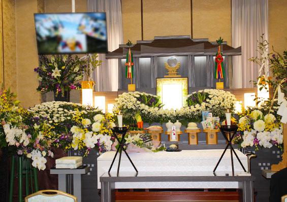 お客様アンケート葬儀写真