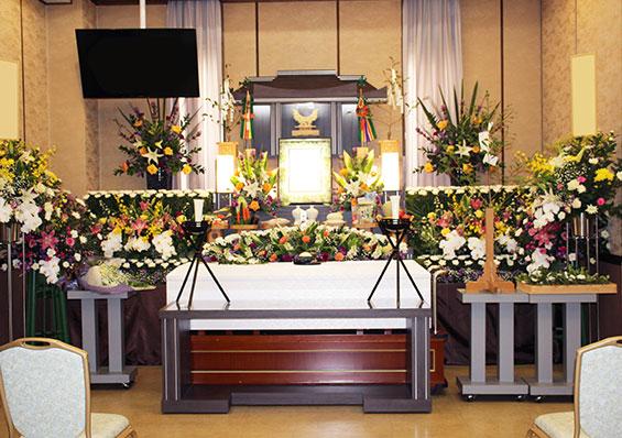 お客様の声_葬儀風景写真